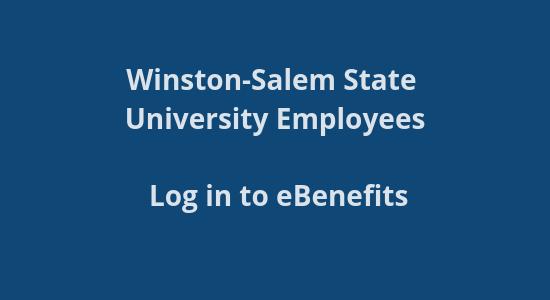 WSSU Benefits site logi<br /> n