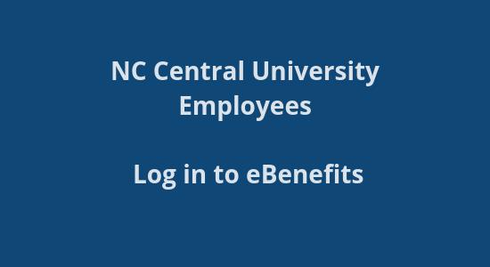 NCCU Benefits site login